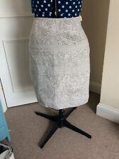 laura ashley linen skirt size 16