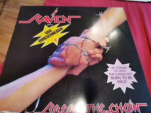 """Raven Break the chain 12"""" Maxi Udo Dirkschneider"""