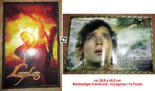 1x Herr der Ringe A3-Doppel-Poster: LEGOLAS & FRODO 29,5 x 45,5 cm