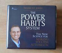 The Power Habits System - Noah ST. John - Audiobook 8CDs & 1 DVD