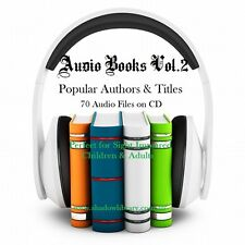 CD - 70 Audio Books Vol.2 - Sight Impaired, Blind  - (Re-Sell Right)