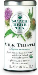Organic Milk Thistle Tea by The Republic of Tea, 36 tea bag