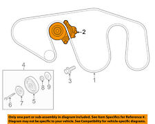 NISSAN OEM-Serpentine Drive Fan Belt Tensioner 119551LA0B