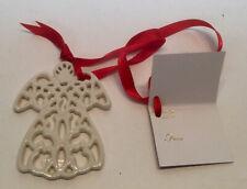 "NEW Lenox China Greetings of the Season ""Angel"" Ornament Gift Tag Charm"