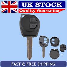 2 Button Remote Key Fob Case Blade For SUZUKI IGNIS ALTO SX4 VAUXHALL AGILA UK