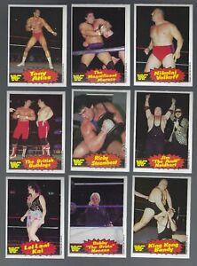 1985 OPC WWF Wrestling 75 Card Series 2 Set NRMT From Vending