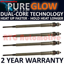 4x Diesel Heater Glow Plugs For Toyota 2.0 D-4D  Dual Core