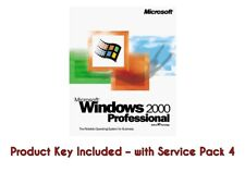 Windows 2000 Professional Win 2000 Pro + License Product Key