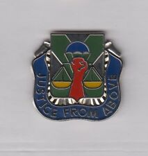 US ARMY 10th MILITARY POLICE BN CID AIRBORNE MP crest DUI badge c/b D-22