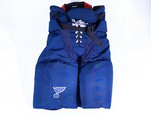 Easton Pro15 St. Louis Blues NHL Pro Stock Hockey Player Pants Size Medium Blue