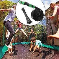 For Trampoline Sprinkler Spray Water Park Kid Fun Summer Outdoor Water Game YF