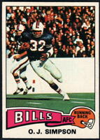 1975 Topps Football - Pick A Player - Cards 401-528