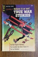 Ripley's Believe it or not! TRUE WAR STORIES NO. 1  1965  NICE!  Gold Key