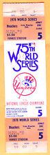 SCARCE FULL TICKET-1978 WORLD SERIES GM #5-YANKEES/DODGERS