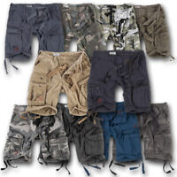 SURPLUS AIRBORNE SHORTS RAW VINTAGE CARGO COMBAT PANTS