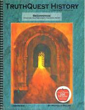 NEW TruthQuest History Guide BEGINNINGS Creation Old Testament Egypt Homeschool