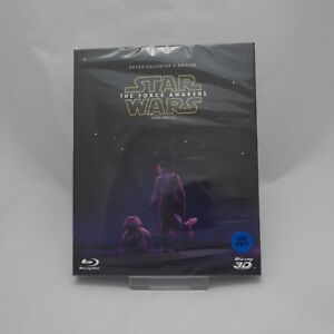 Star Wars The Force Awakens BLU-RAY 2D & 3D Combo w/ Slipcover