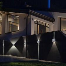 5er Set LED Projecteurs muraux aluminium éclairage de patio akzentlampen