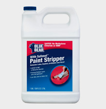 Blue Bear SAFENOL PAINT STRIPPER Gel Removes Varnish Latex Epoxy Enamel 1 Gallon
