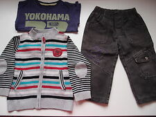 Lote niño: chaqueta, pantalón y camiseta. Talla 18-24 meses
