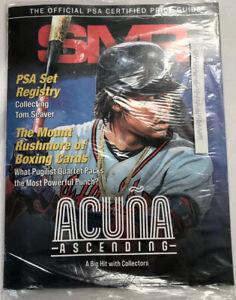 SMR Magazine • Ronald  Acuña Jr • November 2020 PSA Certified Price Guide