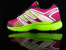 SALOMON X MISSION 2 W Damen Laufschuhe Jogging Fitness neon-grün/lila 40,5 xr