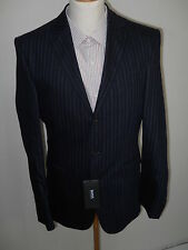 Z49999 HUGO BOSS Anzug - Gr. 94 - dunkelblau Nadelstreifen - Neu mit Etikett