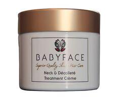 Babyface cara y cuello Crema antioxidantes, los péptidos, hidratación y antienvejecimiento Royal