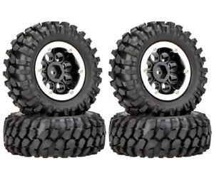 "1.9"" 96/108mm Rc Beadlock Wheels Tires 1/10 Crawler For Hpi Venture Traxxas Trx4"