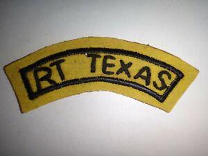 Vietnam Guerre États-Unis Macv-Sog Rt Texas Ccc Main Cousu Patch