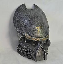 Silver Paintball Full  Mesh Protection Alien Vs Predator Mask Prop Halloween