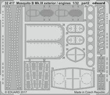 Eduard PE 32417 1/32 de Havilland Mosquito B Mk.IX/XVI exterior/engines detail