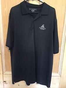 Greg Norman Black Golf Polo Shirt. Joondalup Resort Perth Australia. Size XXL