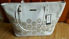 White BNWT Nine West RRP £55 White 'It girl tote LG' handbag shoulder bag