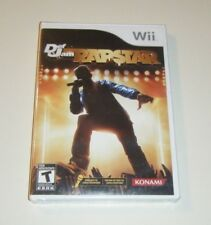 Def Jam Rapstar BRAND NEW SEALED GAME for Nintendo Wii system & BRAND NEW MIC