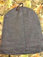 GRAY  Knit  Beenie Hat ONE SIZE FITS ALL MEN OR WOMEN NEW