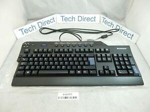 Lenovo Enhanced Performance Keyboard USB French business black 73P2631