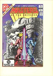 Masters Of The Universe #2 (mini series) VF He-Man and Skeletor. Castle Grayskul