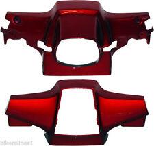 Carene, code e puntali rosso per moto Honda