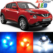 8 x Premium Xenon White LED Lights Interior Package Kit for Nissan Juke + Tool