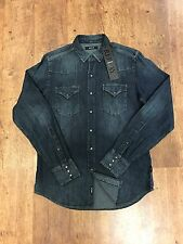 REPLAY DENIM SHIRT SIZE MEDIUM