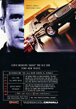 2002 GMC Truck Yukon XL Denali - Classic Vintage Advertisement Ad H01