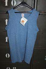 Sous Vêtement chaud - débardeur gilet sans manche bleu taille 2 Vintage neuf