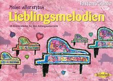 Klavier Noten: Meine allerersten Lieblingsmelodien Anfänger sehr leicht ANFÄNGER