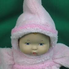 2008 MADAME ALEXANDER BLONDE HAIR BABY DOLL PINK PAJAMAS Pajama PLUSH STUFFED TO