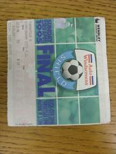 23/04/1995 Ticket: Football League Trophy [Auto Windscreens] Final, Birmingham C