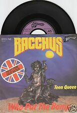 BACCHUS Who Put The Bomp (Barry Mann) 45/GER/PIC