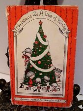 Christmas Is a Time of Giving Artist Joan Walsh Anglund 1961 HBDJ Illustrated