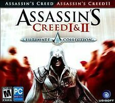 Assassin's Creed I & II (PC DVD-ROM, 2008) Used