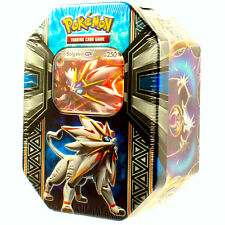 POKEMON: TIN SET SOLGALEO in INGLESE - Carta SOLGALEO GX + 4 Bustine